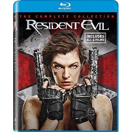Resident Evil: The Final Chapter Collection (Blu-ray) (Resident Evil Halloween Horror Nights)