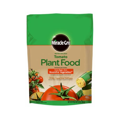 SCOTTS MIRACLE GRO Food For Tomatoes, 18-18-21, 3-Lb.