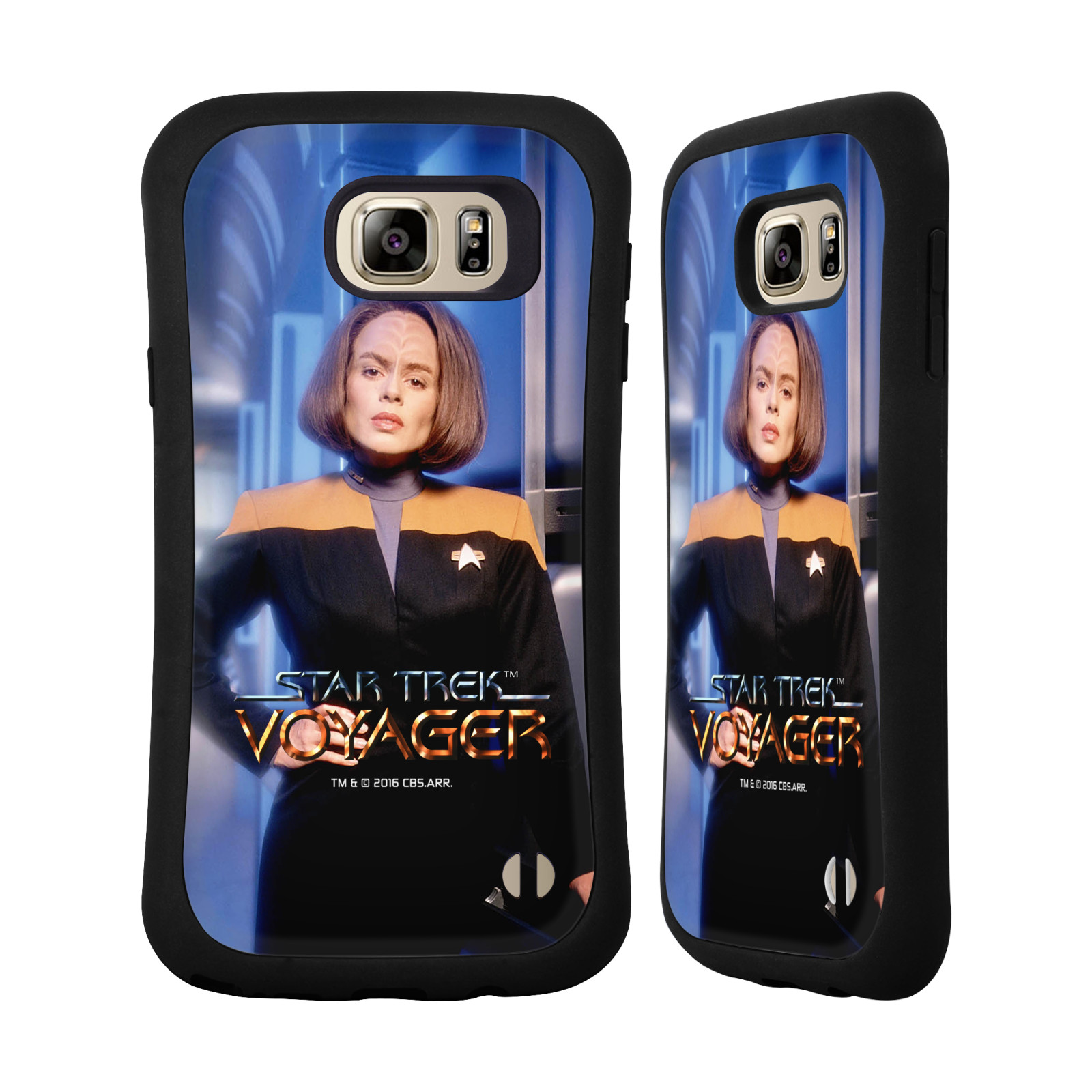 OFFICIAL STAR TREK ICONIC CHARACTERS VOY HYBRID CASE FOR SAMSUNG PHONES