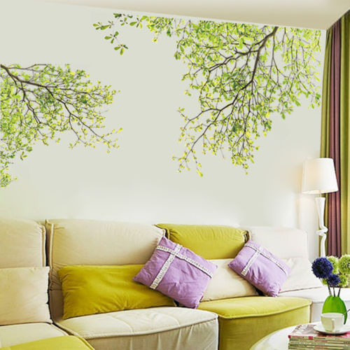 Tree Branch Wall Art Stickers Removable Vinyl Decal Mural Home Office Decor L