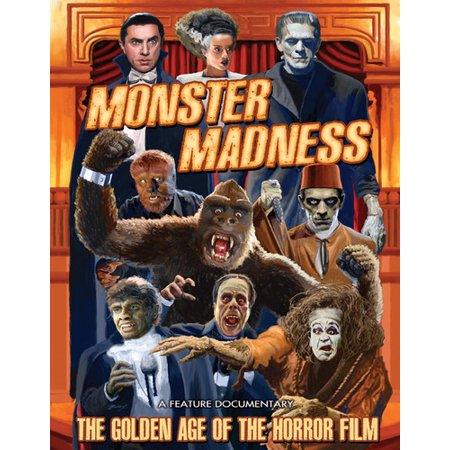 Monster Madness: Golden Age of the Horror Film (DVD) (Films Of The Golden Age Magazine)
