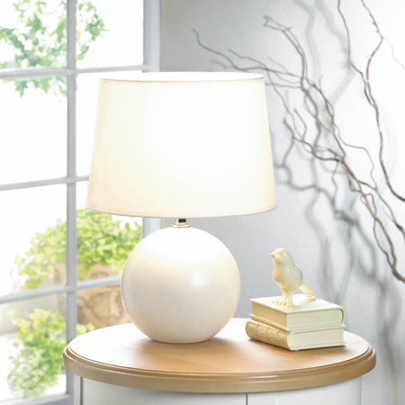Modern Desk Lamp Light White Ceramic Bedside Table Lamps For Bedrooms