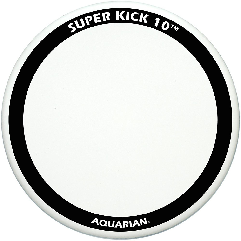 Aquarian Super-Kick 10 Bass Drum Head White Coated 20 in. by Aquarian
