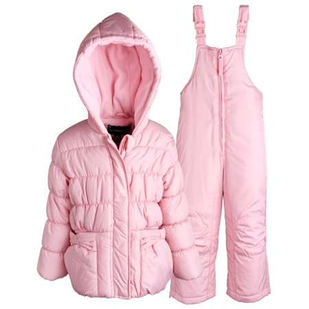 40acb00b41e7 Rothschild - Rothschild Baby Girls Down Alternative Bubble Snowsuit ...