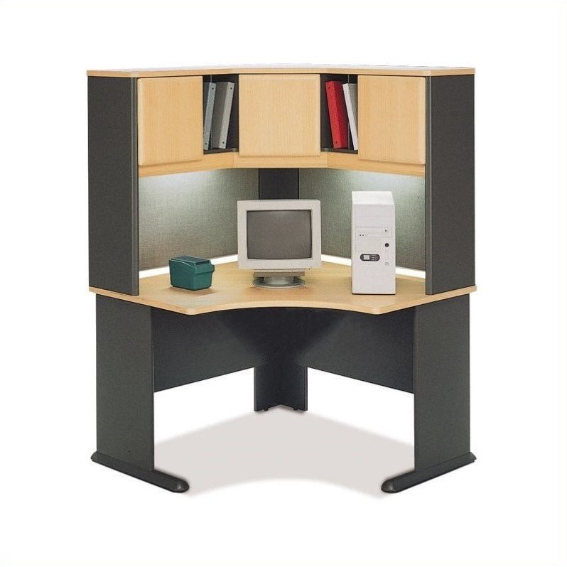 Bush Business Series A 48 Quot Corner Computer Desk With Hutch