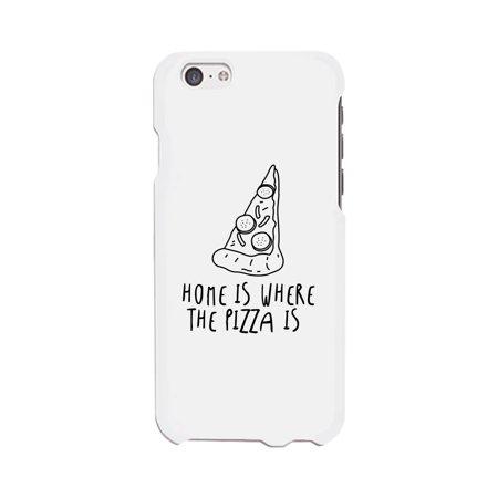 Home Where Pizza White Ultra Slim Phone Cases For Apple
