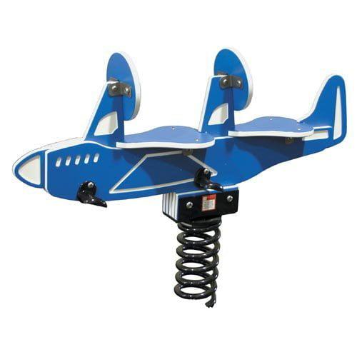 Child Forms Airplane Spring Rider-2 Seat