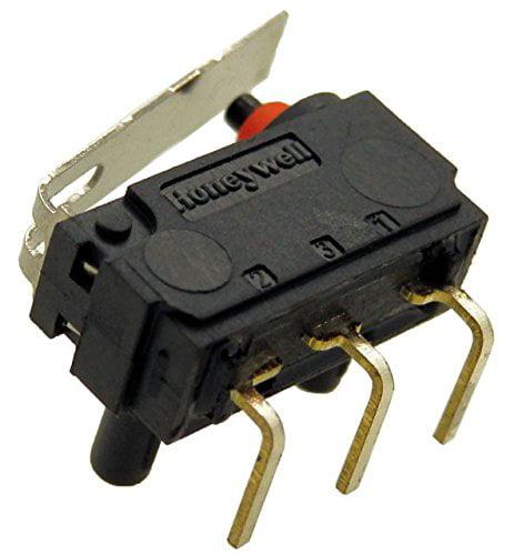Honeywell Micro Switch STR LVR SPDT 3A 125V ZD30S60C02-Z(Pack of 2)