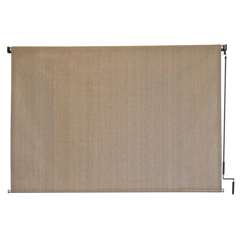 Keystone Fabrics Cordless Outdoor Sun Shade, Multiple Sizes and Colors