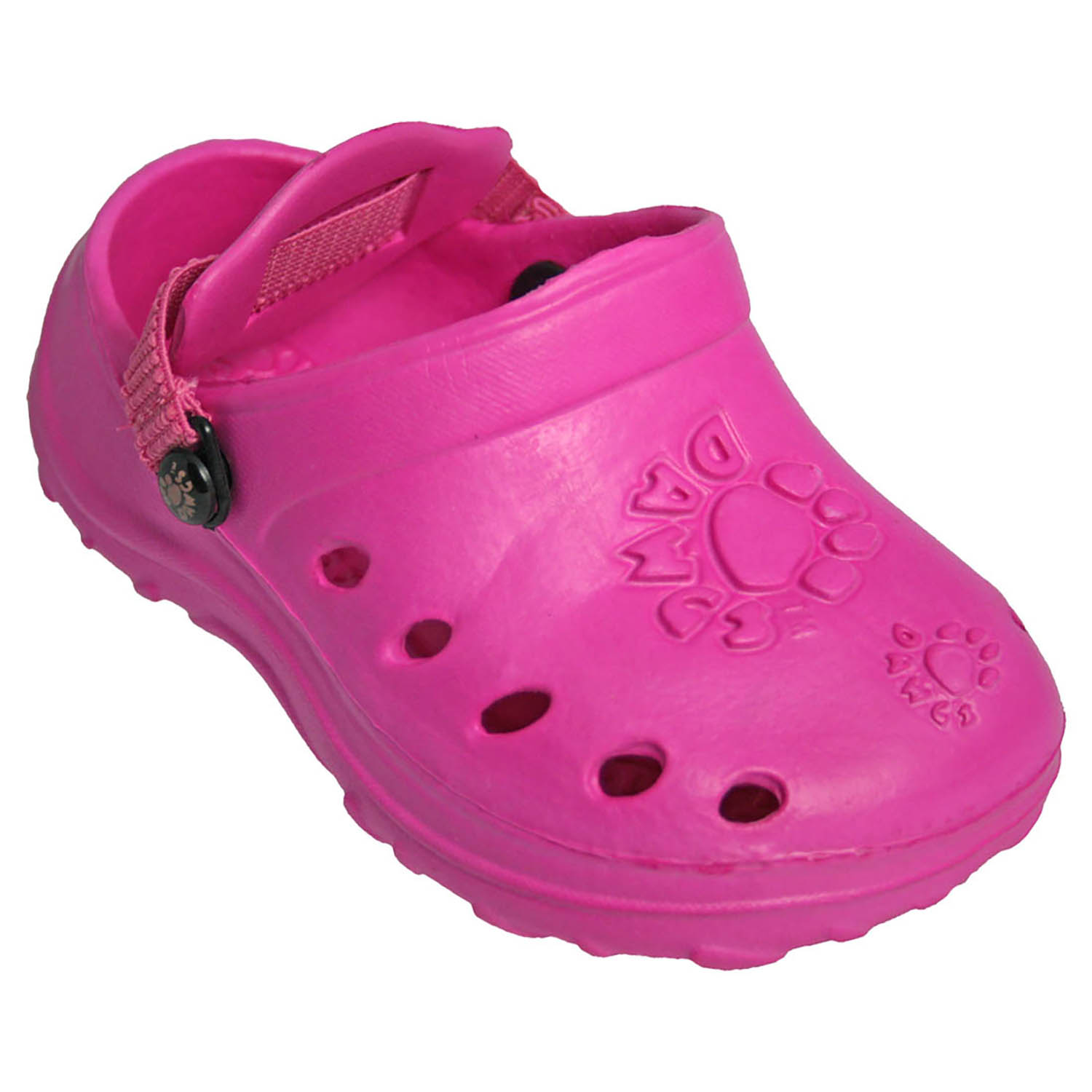 Toddlers' Dawgs Baby Dawgs Clogs Hot Pink Size 5