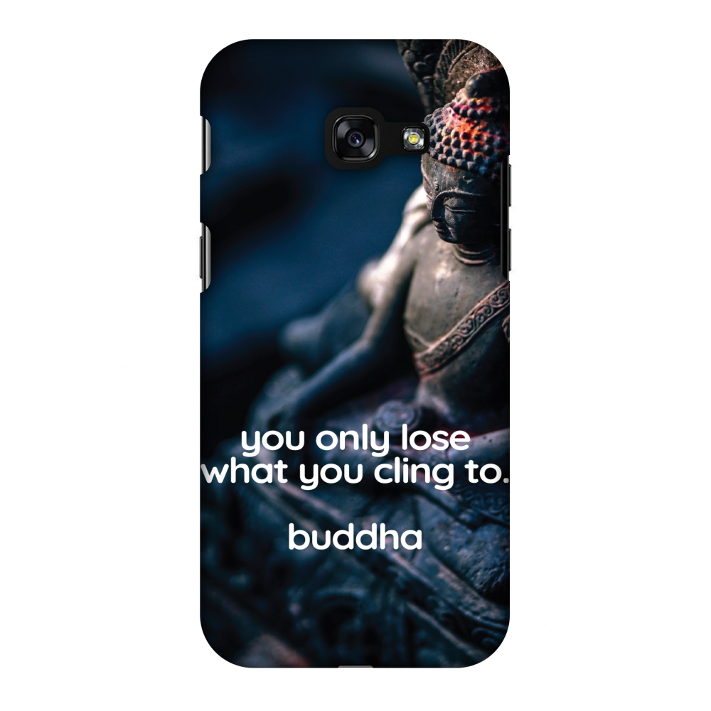 Samsung Galaxy A3 2017 Case, Premium Handcrafted Printed Designer Hard Snap on Shell Case Back Cover for Samsung Galaxy A3 2017 - Buddha Quotes 3
