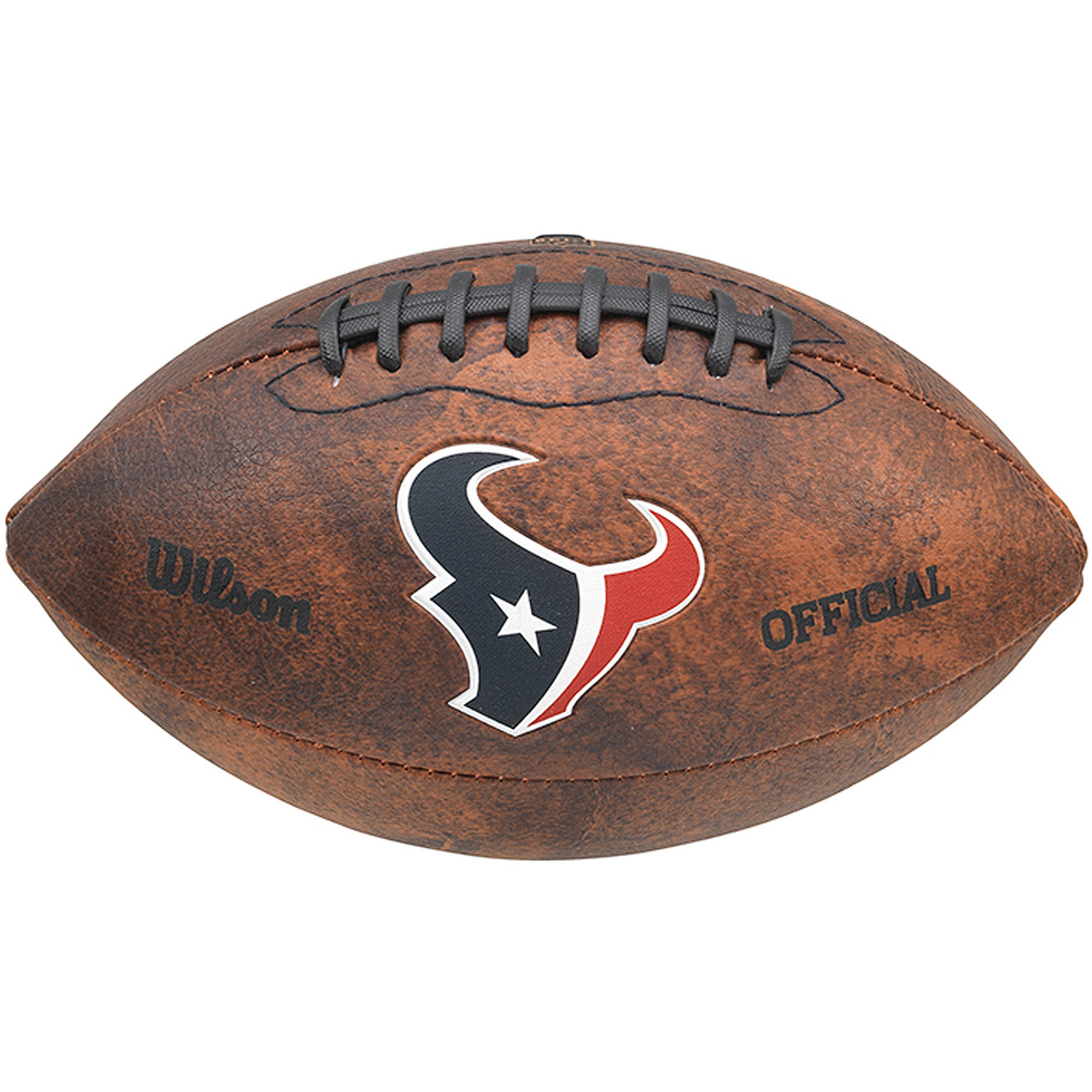 """Wilson NFL 9"""" Color Throwback Football, Houston Texans by Gulf Coast Sales"""