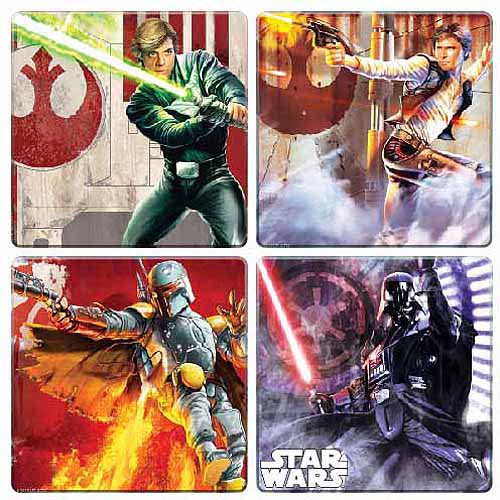 Vandor Star Wars 4 Piece Coaster Set