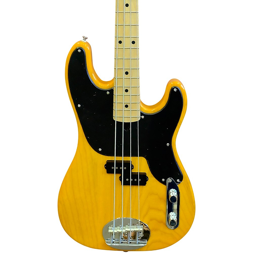 Lakland Skyline 44-51 Maple Fretboard 4-String Electric Bass Guitar Blonde