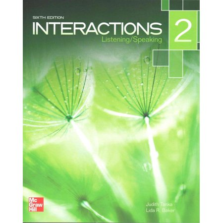 Interactions Level 2 Listening/Speaking Student Book Plus Registration Code for Connect ESL