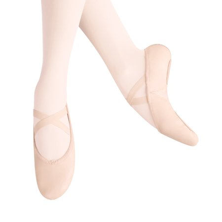 Image of Adult Arabesque Leather Ballet Slippers