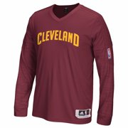 30a84d844 Cleveland Cavaliers NBA Adidas Navy Blue Authentic On-Court Clima  Performance Long Sleeve Shooter Shirt