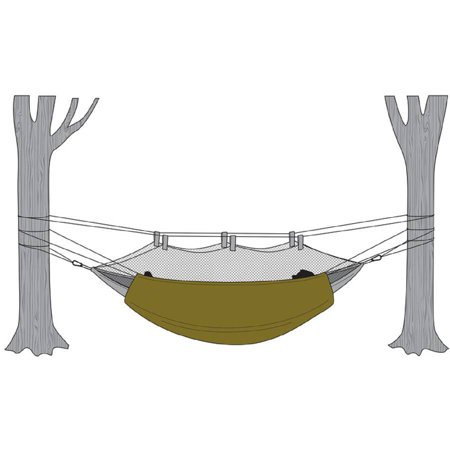 p snuggler under hammock thermarest slacker blanket asp