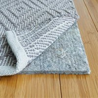 """RUGPADUSA, 8' x 10', 1/3"""" Thick, Basics 100% Felt Rug Pad, Safe for All Floors and Finishes, Made in the USA"""