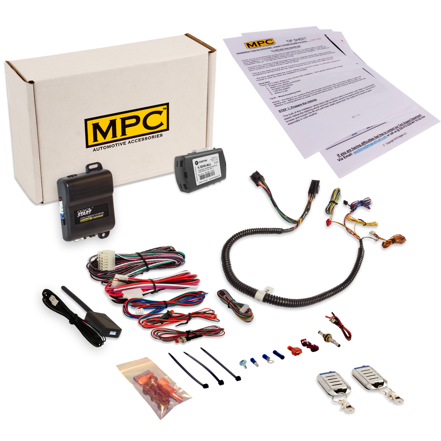 MPC Remote Start Kit for Chrysler Dodge Jeep 2008 & Up - ...