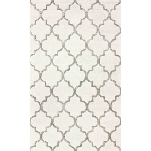 nuLOOM Hand-Tufted Park Avenue Trellis Area Rug or Runner