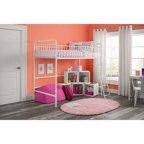 Your Zone Metal Loft Twin Bed Multiple Colors Walmart Com