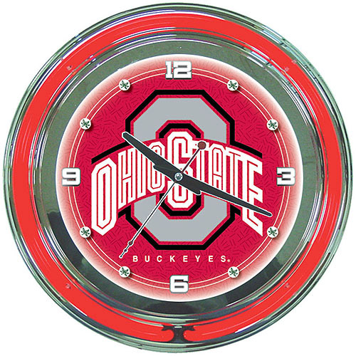 "The Ohio State University 14"" Neon Wall Clock"