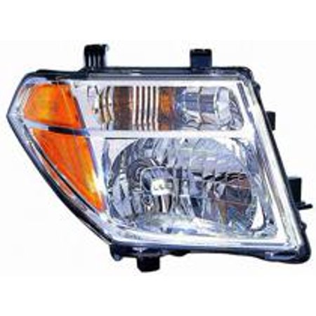 Go-Parts » 2005 - 2008 Nissan Frontier Front Headlight Headlamp Assembly  Front Housing / Lens / Cover - Right (Passenger) 26010-EA525 NI2503157
