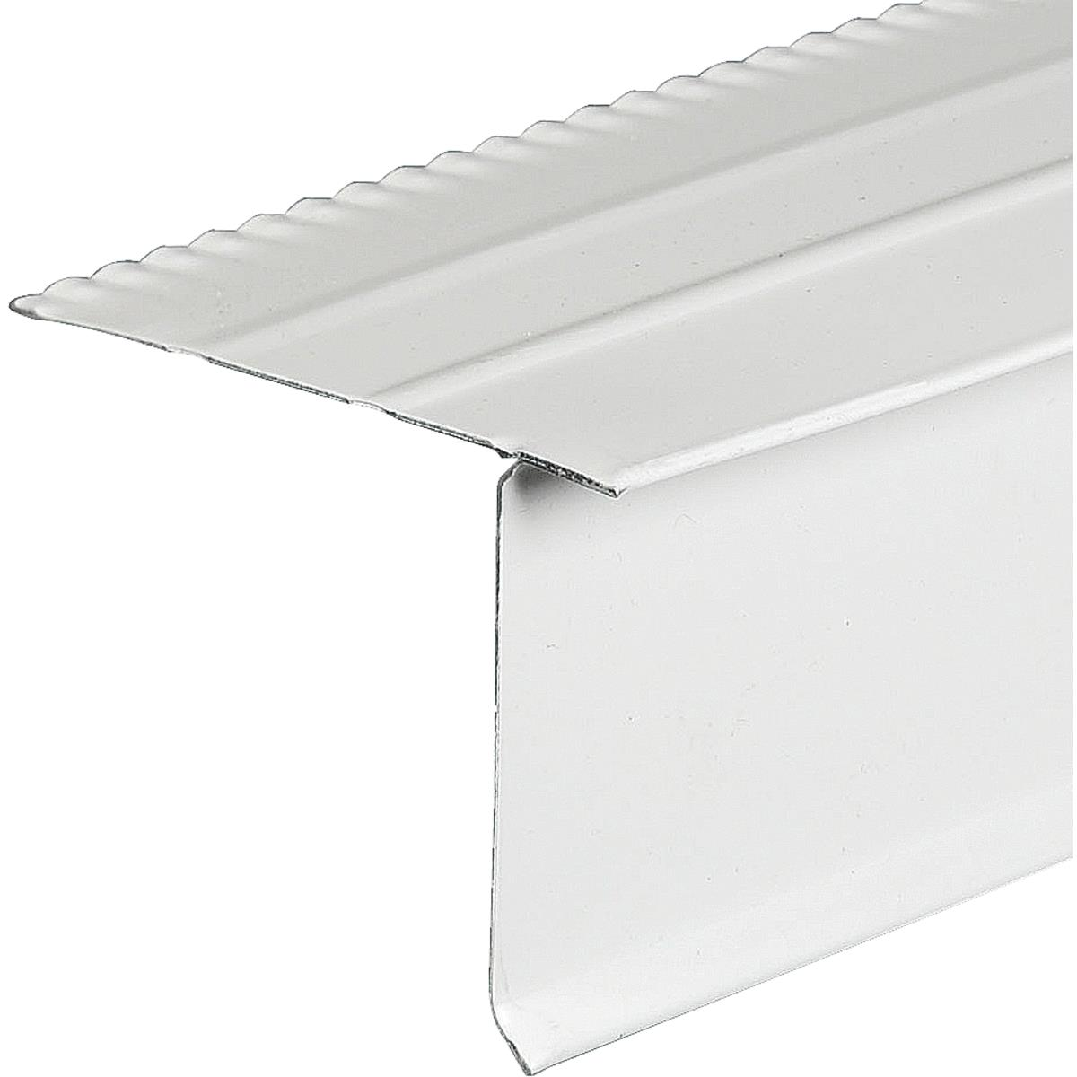 Amerimax Aluminum F Style Overhanging Roof & Drip Edge Flashing 5515500120