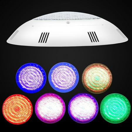Spptty 18W plusieurs couleurs LED lampe sous-marine piscine lumière télécommande étanche, lampe de piscine sous-marine, lampe de piscine LED - image 6 de 8