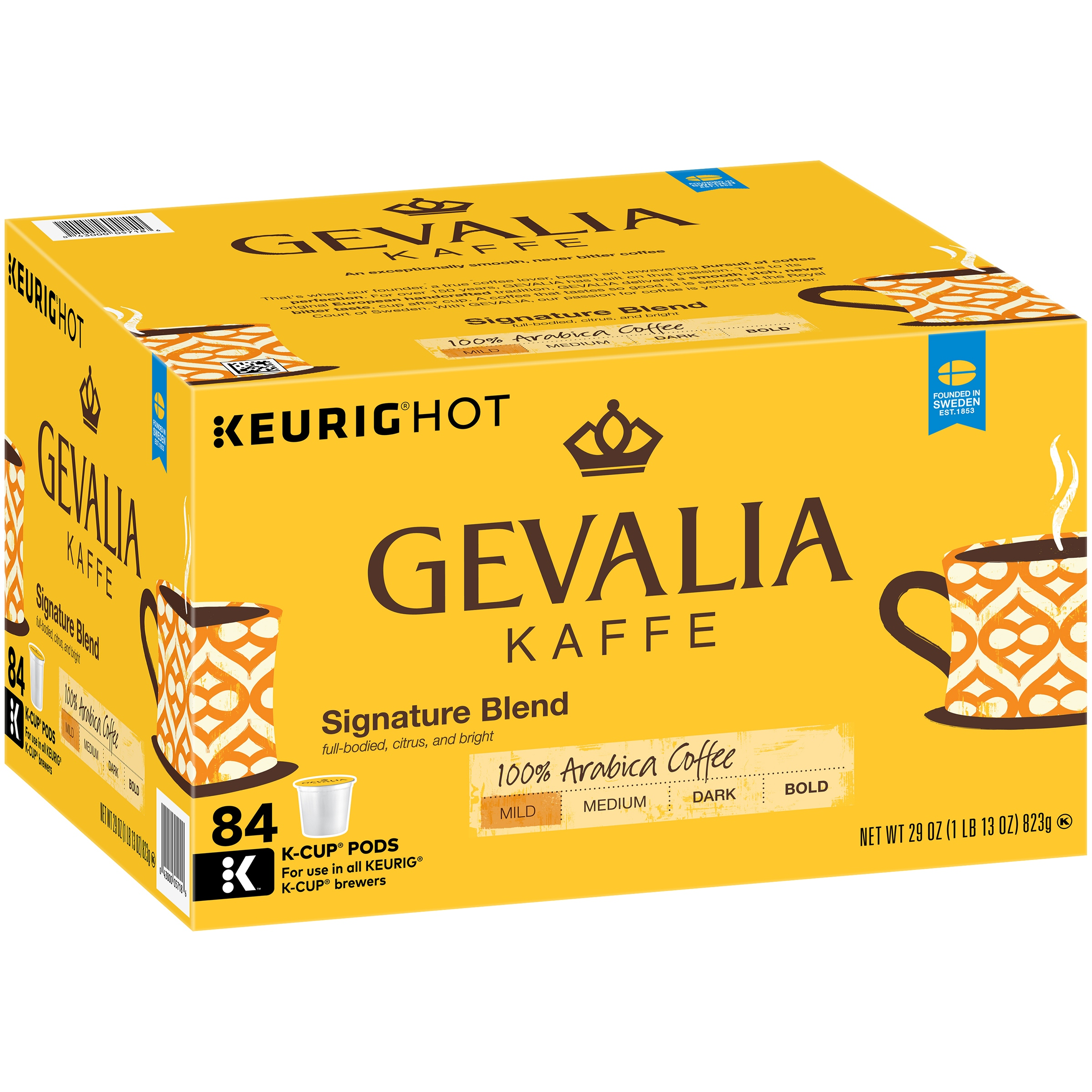 Gevalia Signature Blend Coffee K-Cup® Pods 84 ct Box