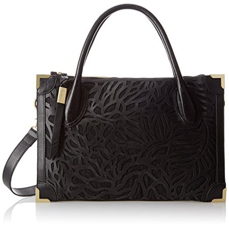 Foley + Corinna Botanica Framed Satchel,Black,One
