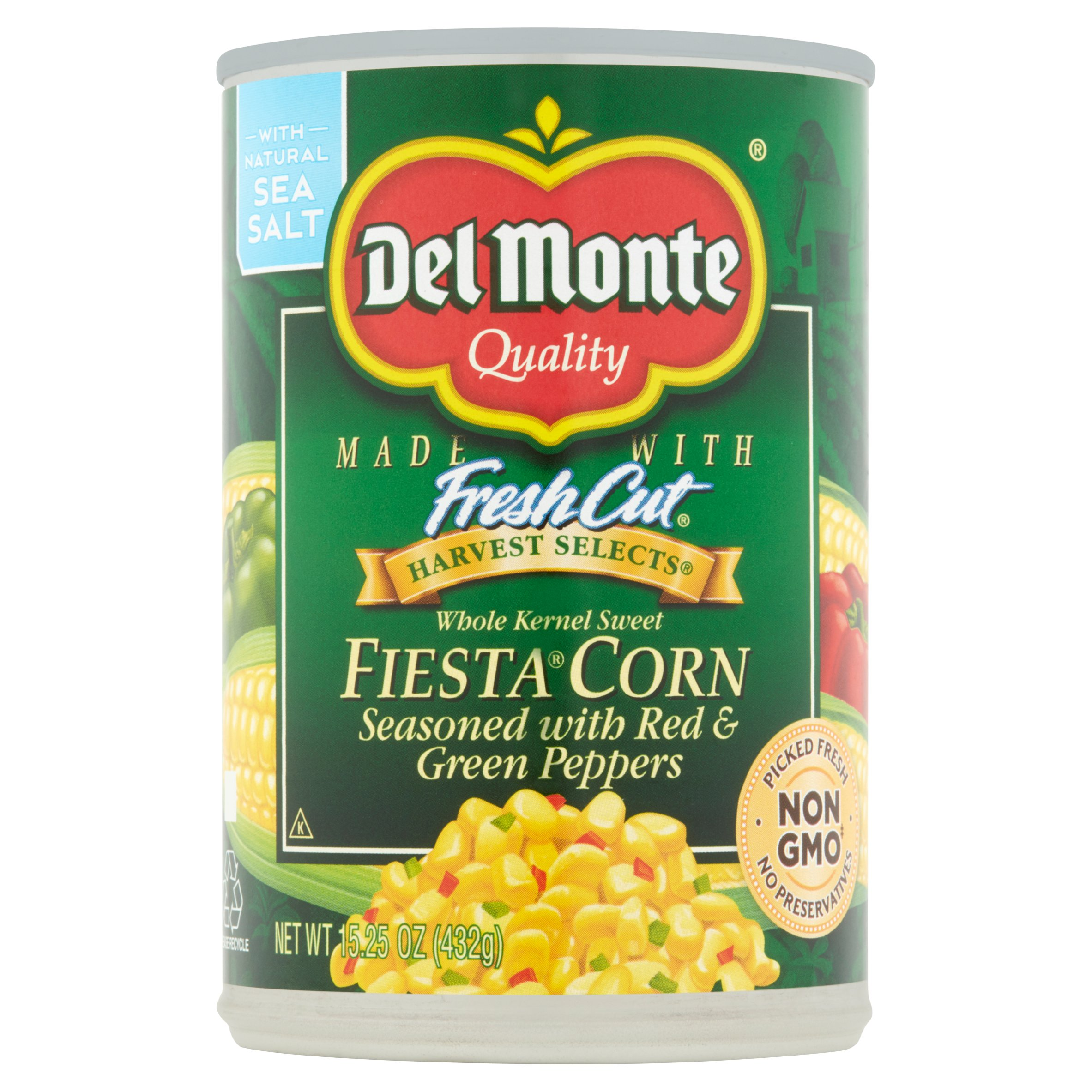 Del Monte Whole Kernel Sweet Fiesta Corn, 15.25 oz