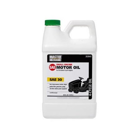 CITGO Petroleum 263643 48 oz Master Mechanic SAE30 4 Cycle Riding Mower Engine Oil - image 1 of 1