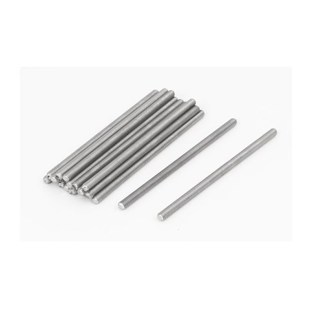 M3 x 60mm 0.5mm Pitch 304 Stainless Steel Fully Threaded Rods Fasteners 20 Pcs - image 3 of 3