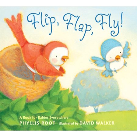 Flip, Flap, Fly!: A Book for Babies Everywhere (Board - David King Small Flap