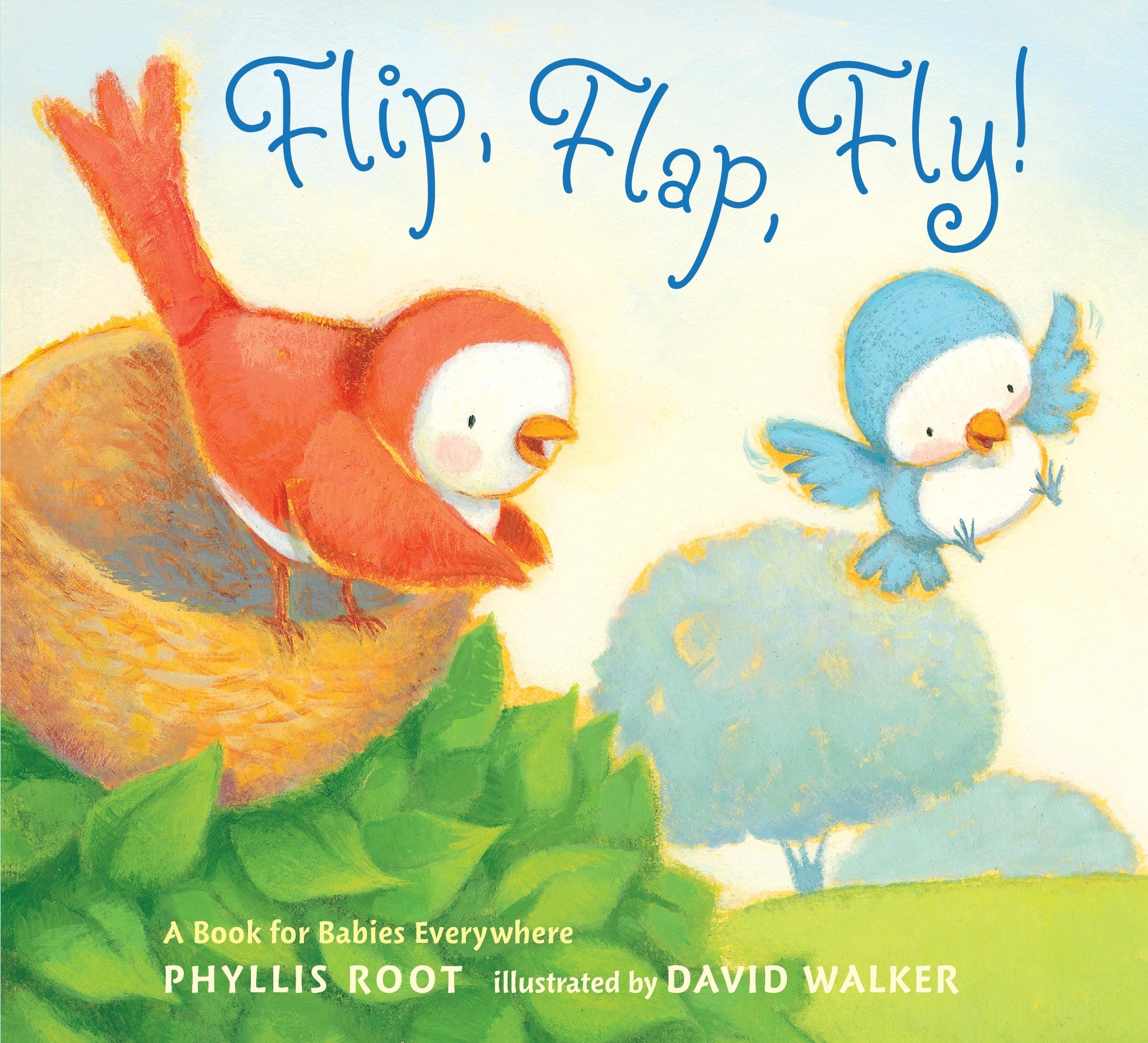 Flip, Flap, Fly!: A Book for Babies Everywhere (Board Book)