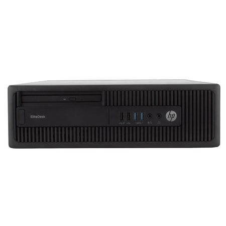 "HP EliteDesk 800 G2 Desktop Computer PC, 3.40 GHz Intel i5 Quad Core Gen 6, 16GB DDR4 RAM, 2TB SATA Hard Drive, Windows 10 Home 64 bit, 22"" Widescreen Screen Refurbished - image 6 of 8"