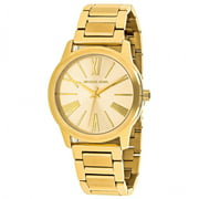 Michael Kors Women's Hartman Gold Steel Tone Watch MK3490