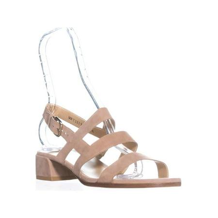 Womens Stuart Weitzman Barrio Slingback Sandals, Cashew