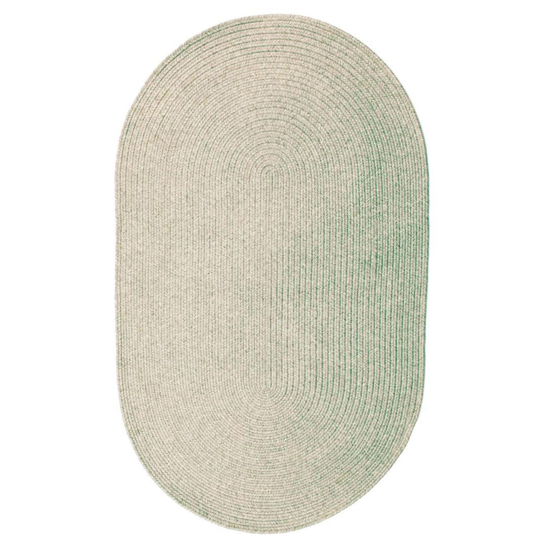Homespice Slate Braided Oval Rug - (2 foot 3 inch x 3 foot 9 inch)