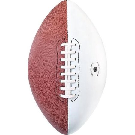 Martin Sports Autograph Composite Football with 3 White Panels, Official Size - Martin Sports Football