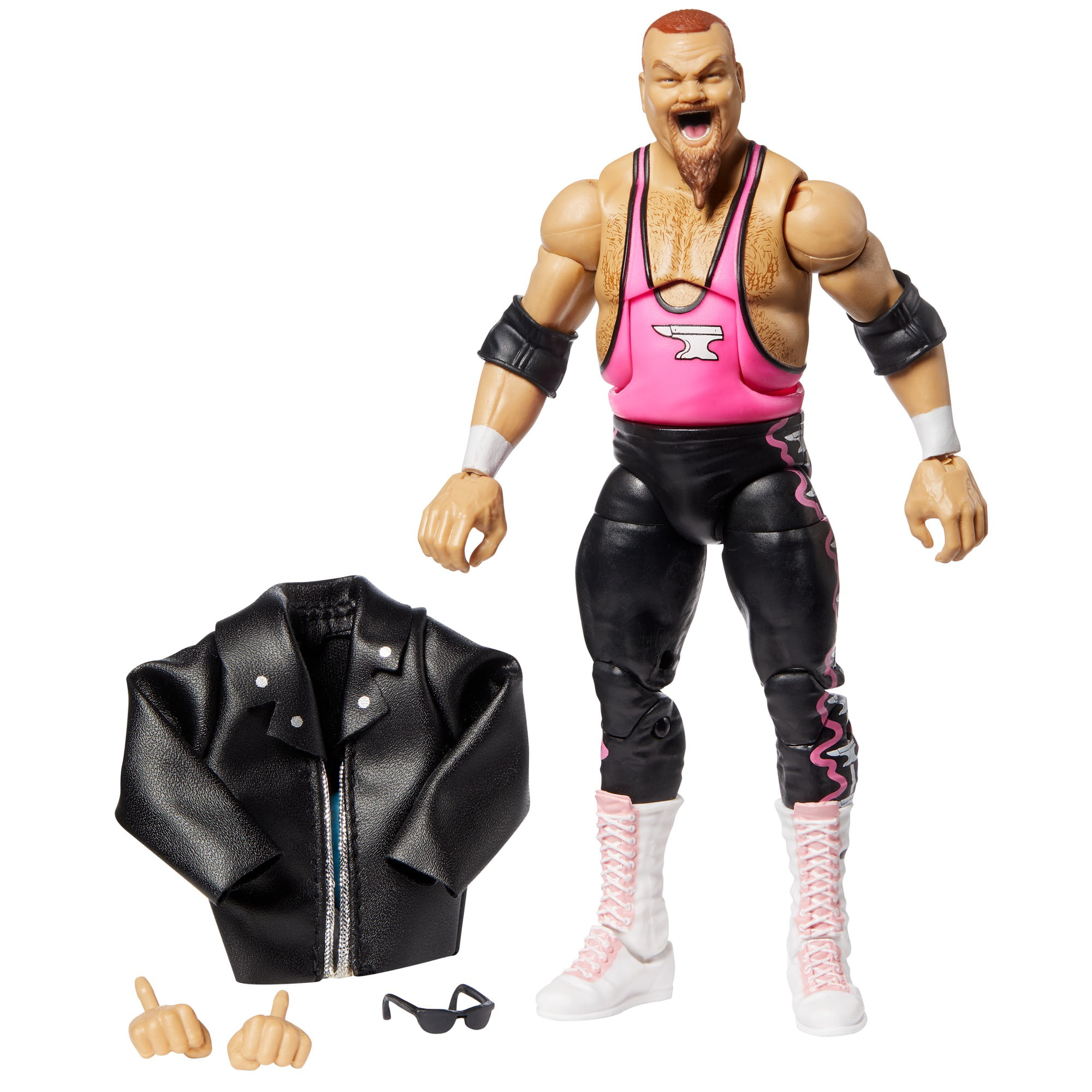"WWE Jim ""The Anvil"" Neidhart Elite Collection Action Figure"