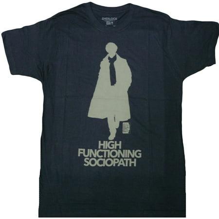 Sherlock High Functioning Sociopath Adult T-Shirt