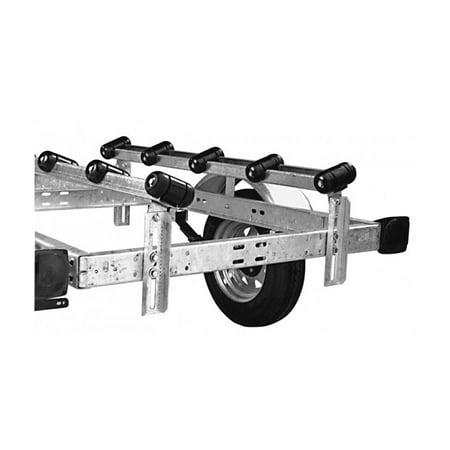 CE Smith 27710 Galvanized Steel 5' Roller Trailer Bunks (1 Pair)