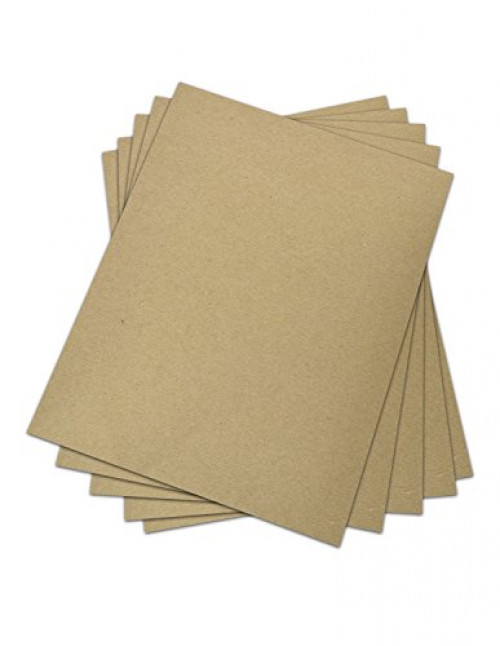 Invitation 1//2 Smaller Than 5X7 Size .060 Caliper Extra X Heavy Cardboard as Thick as 15 Sheets 20# Paper 4.5X6.5 Inches 25 Sheets Brown//Gray Chipboard 60 Point Extra Thick 4.5 X 6.5