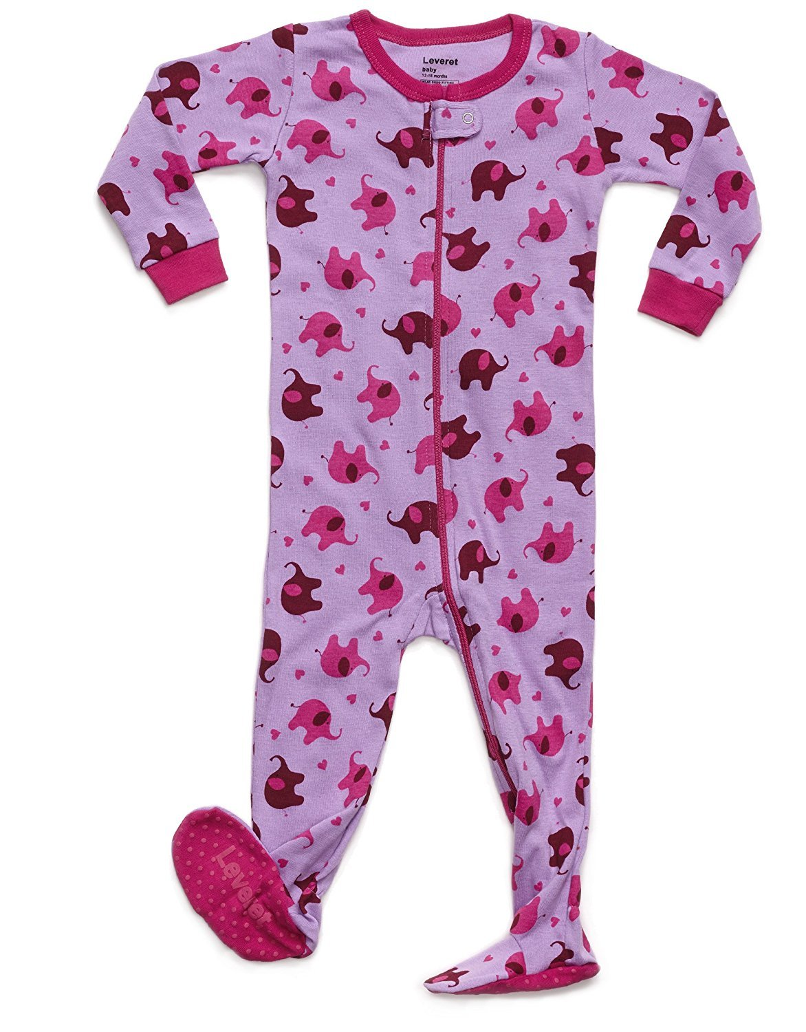 Leveret Horse Footed Pajama Sleeper 100% Cotton 6-12 Months