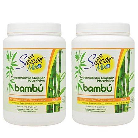 Silicon Mix Bambu Hair Treatment 60Oz  Pack Of 2
