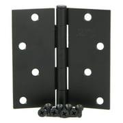 Stone Mill Hardware 4 in. Square Door Hinge - 2 Pack