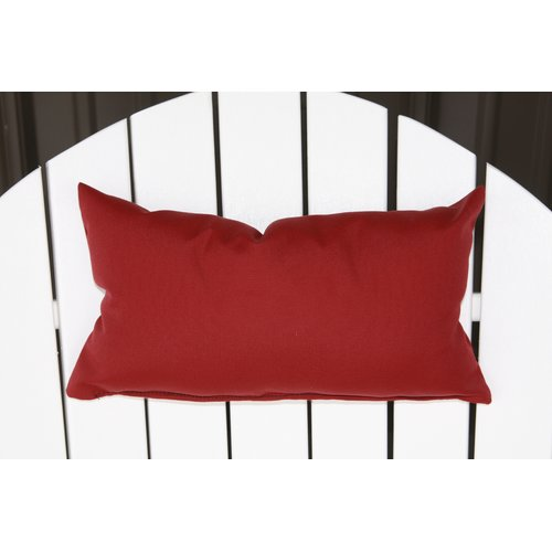 Charlton Home Lamothe Rectangular Adirondack Chair Outdoor Lumbar Pillow
